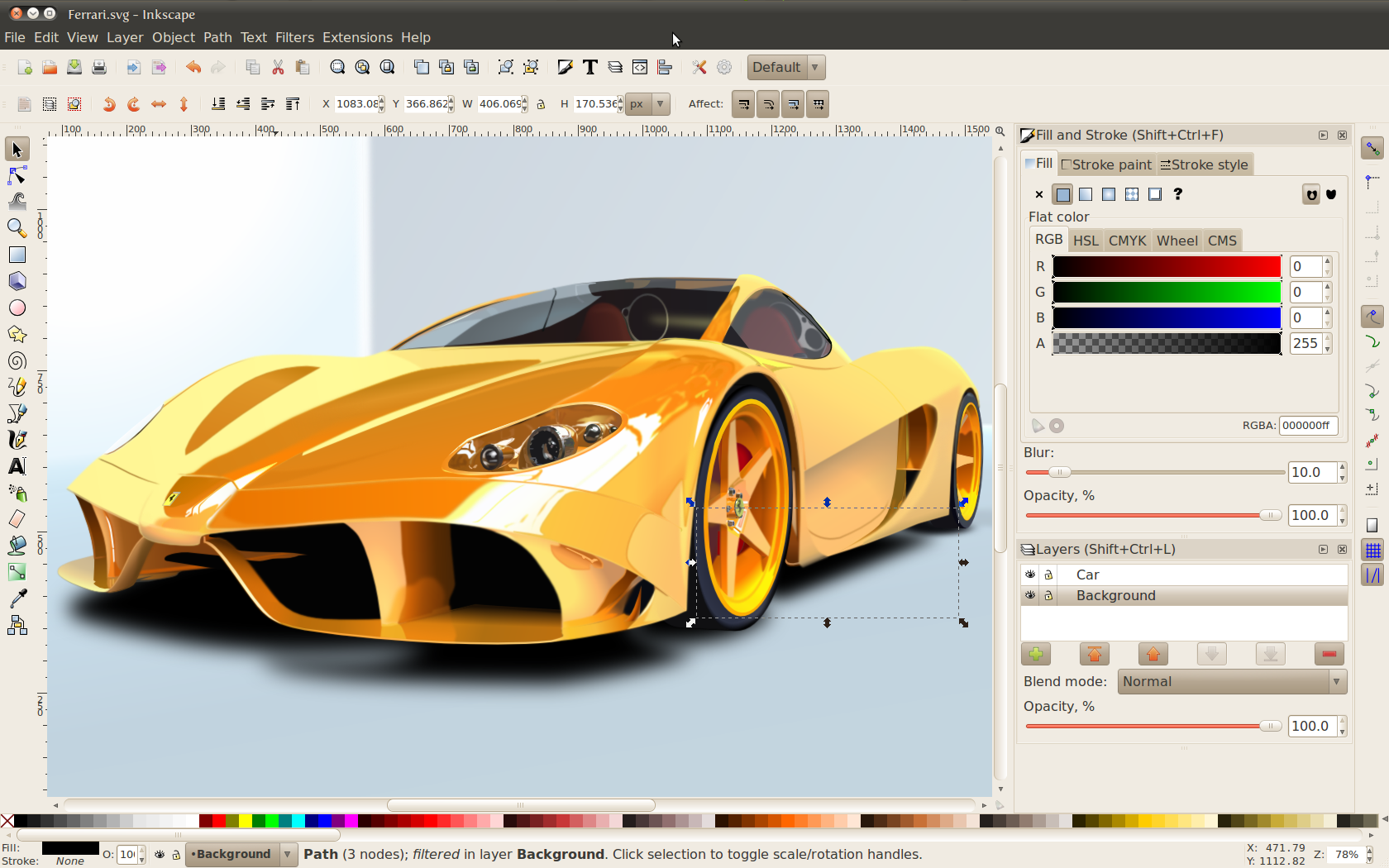 Inkscape-free vector file converter