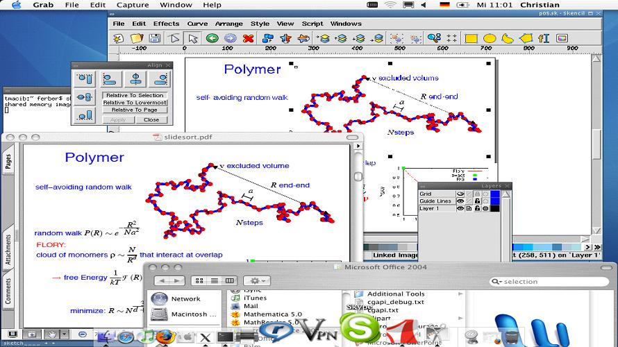 Skencil-vector file converter and editor
