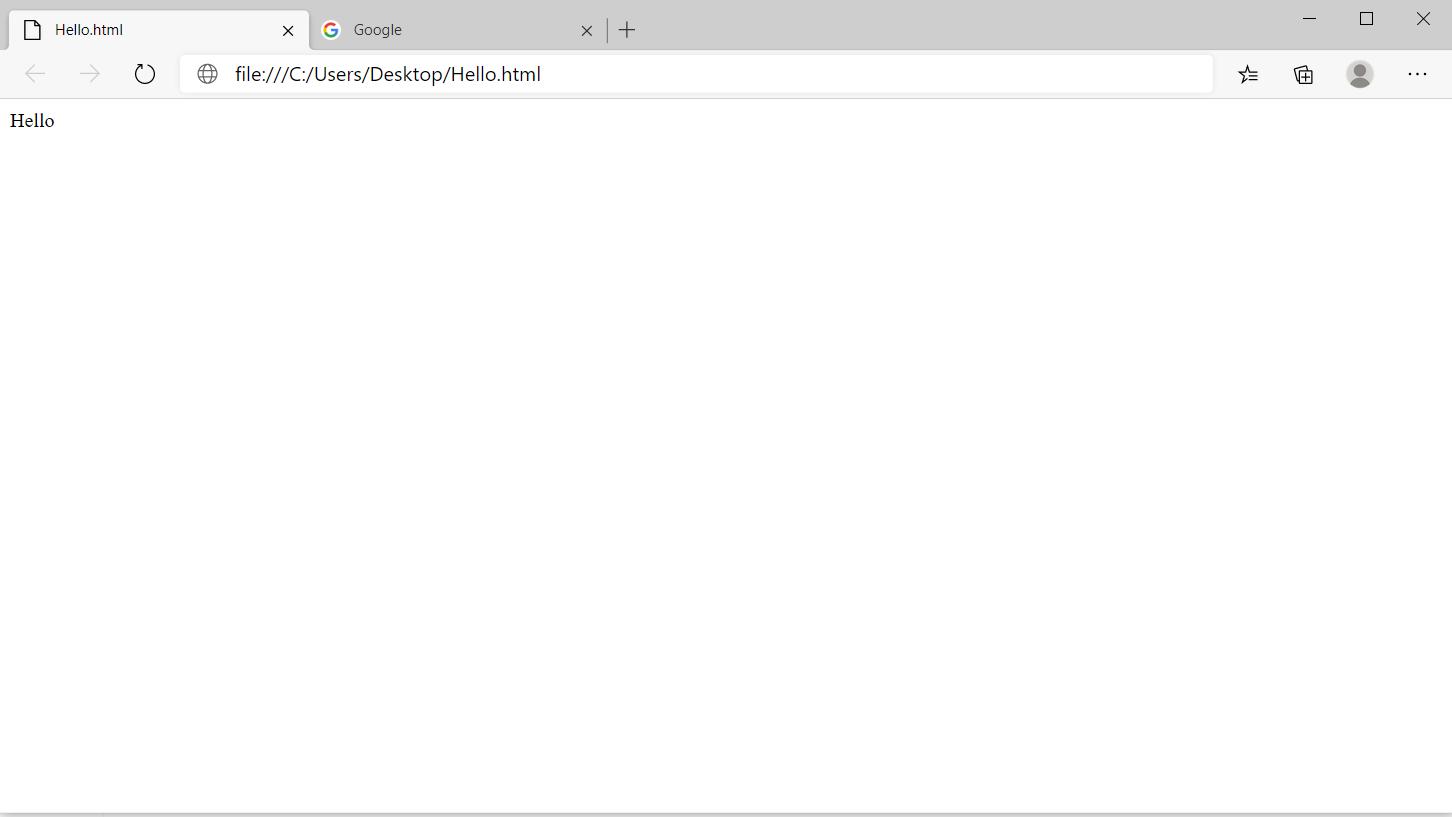 Best document file formats - HTML