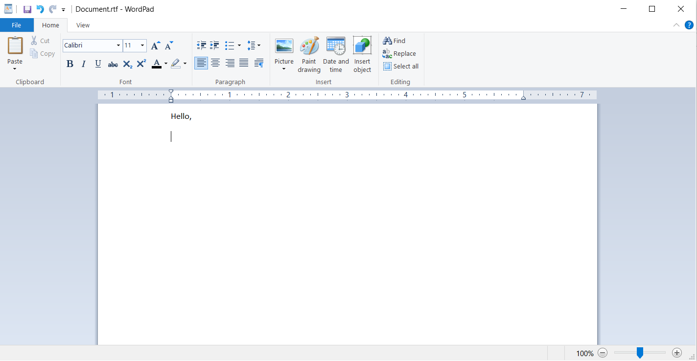 Best document file formats - RTF