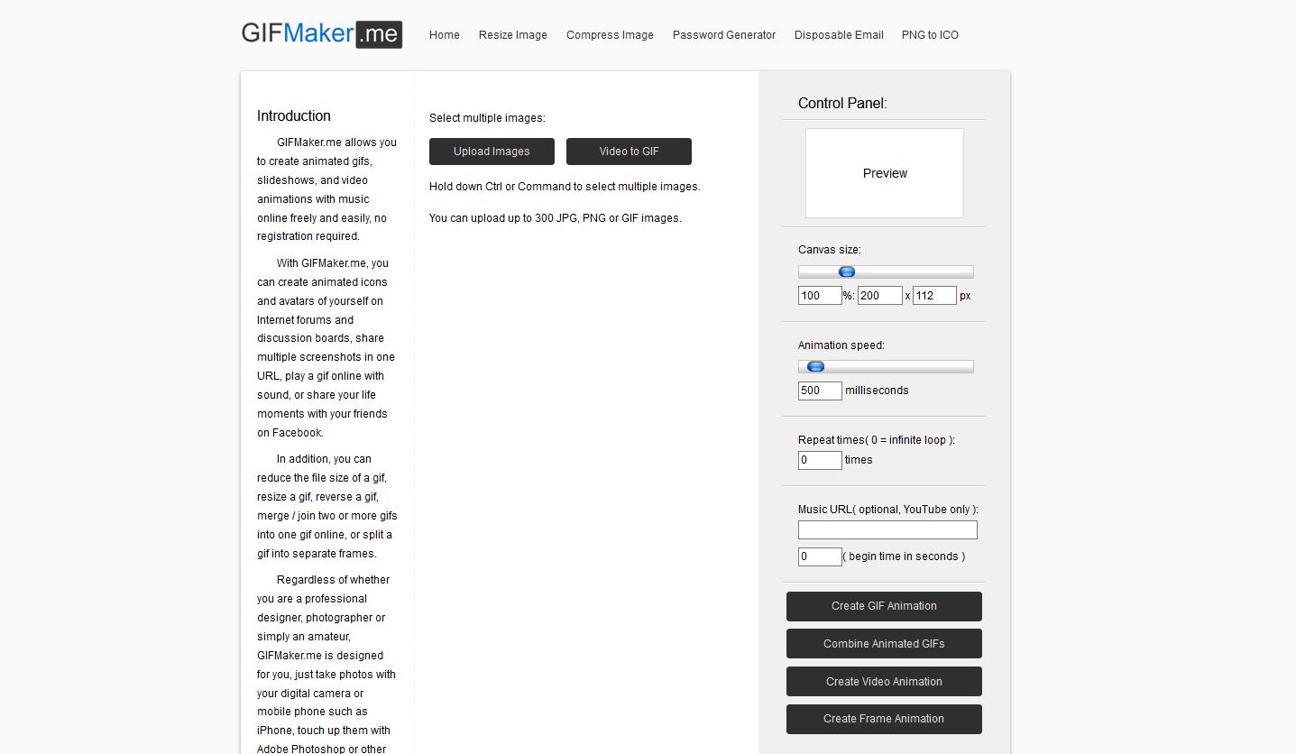 Make a GIF with GIFmaker