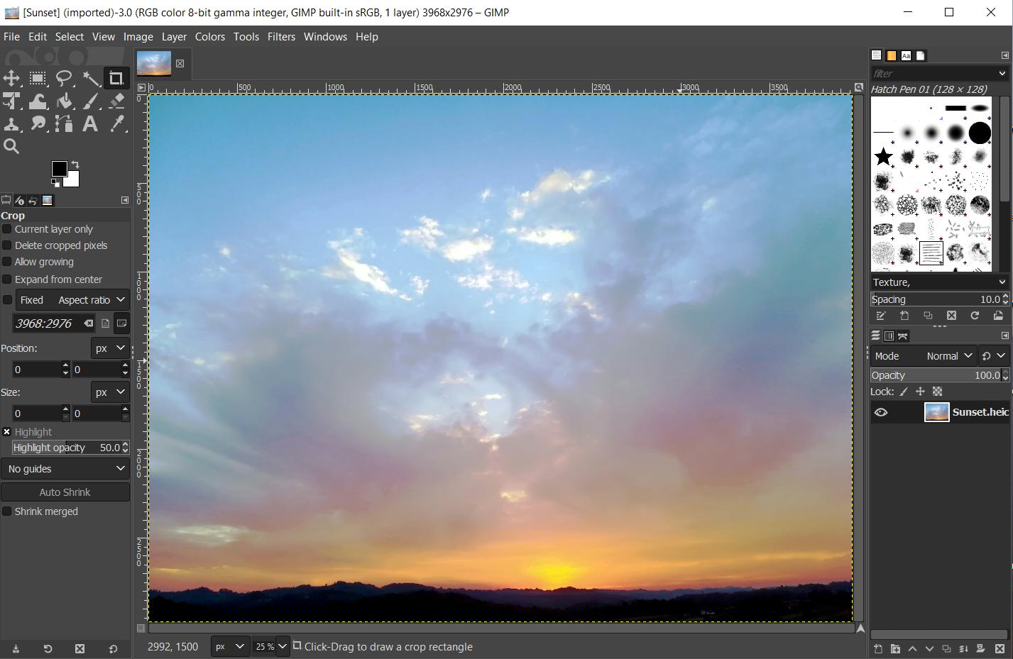 Best image file formats - HEIC