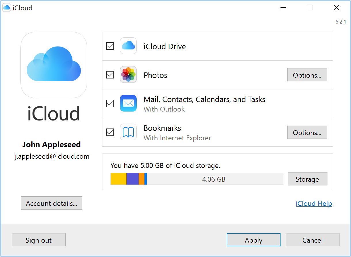 10 file-sharing services-iCloud