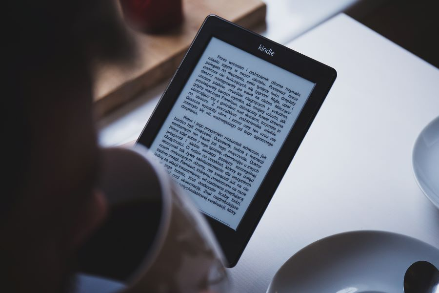 Most popular e-book file formats on Kindle
