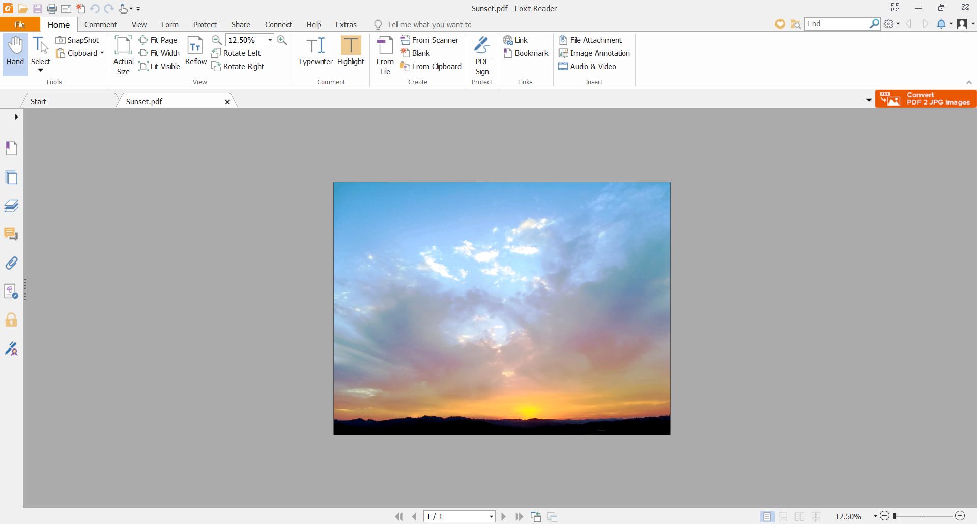 Best image file formats - PDF