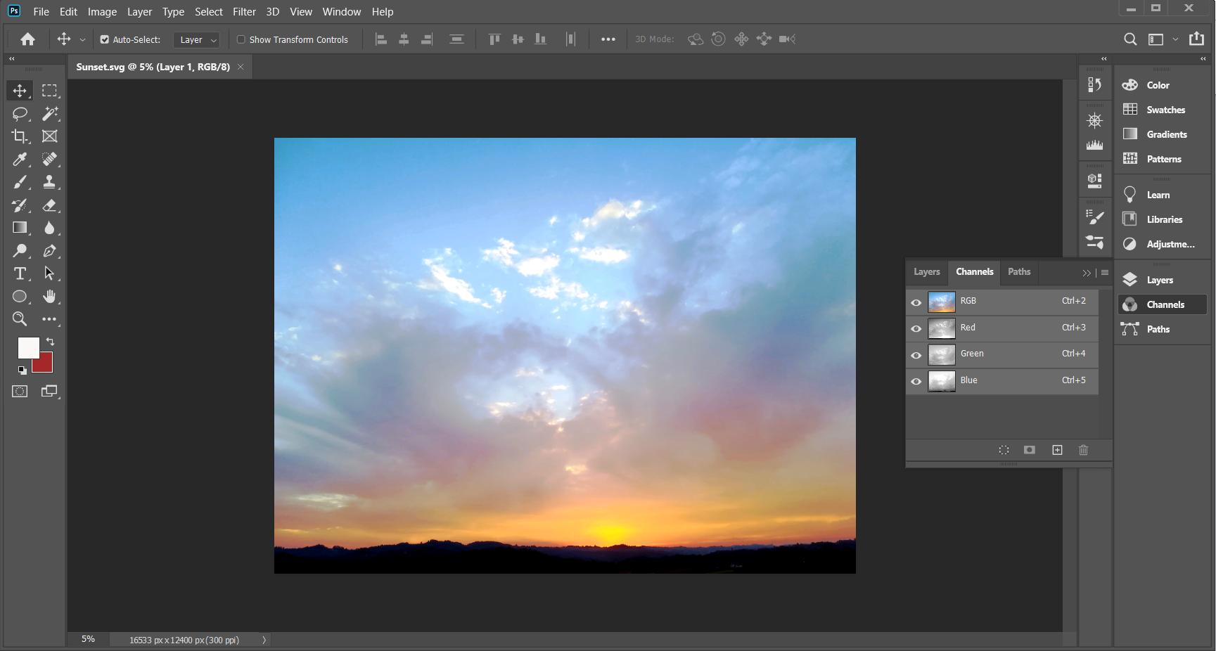 Best image file formats - SVG
