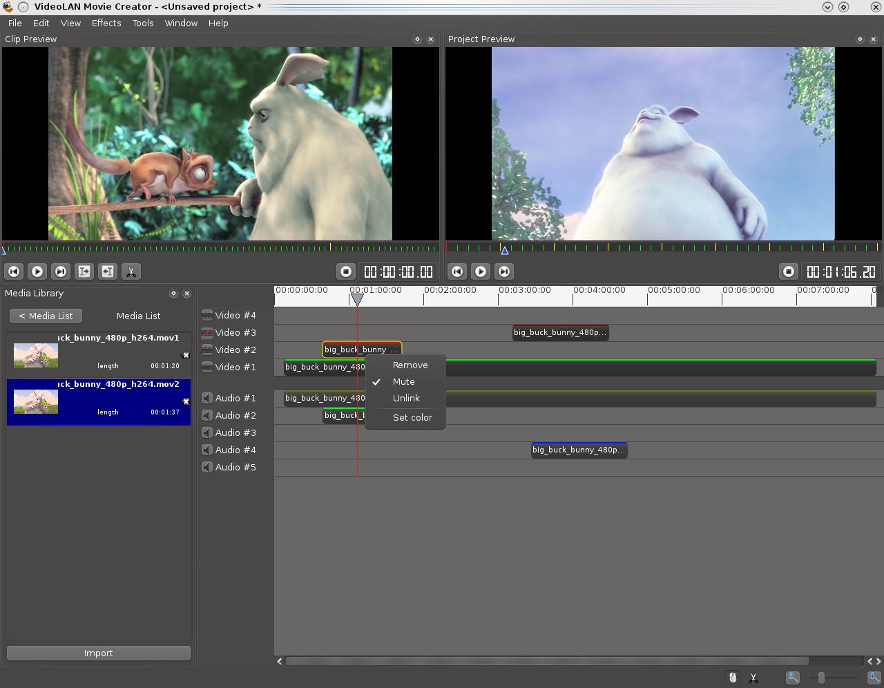 windows movie maker file types - VideoLAN Movie Creator