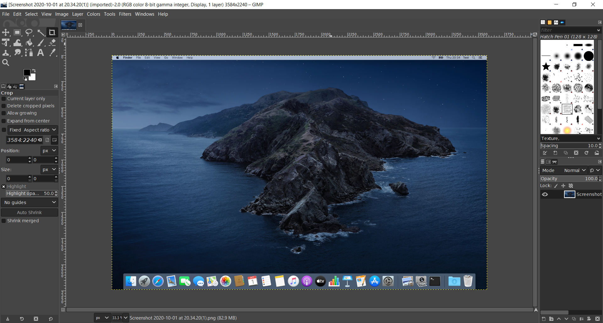 GIMP - available for Mac and Windows
