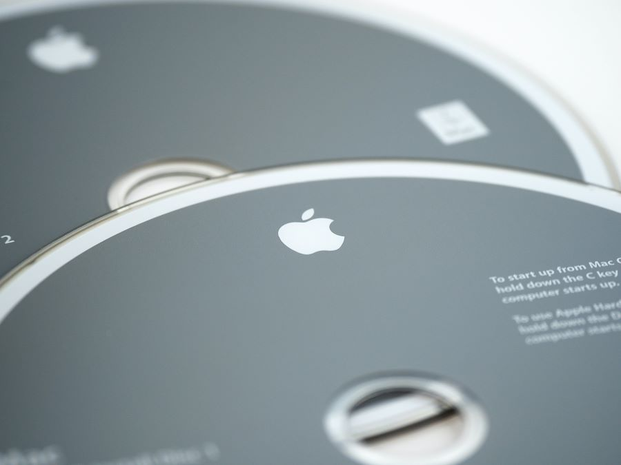 create CD and DVD on Mac