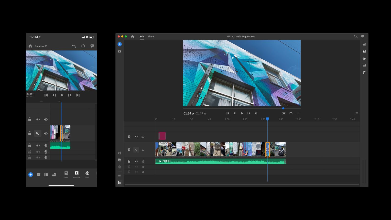 video editors for android - adobe