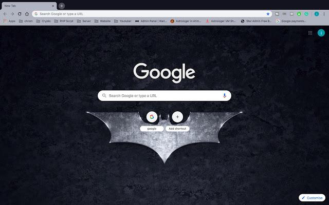 batman - google chrme themes