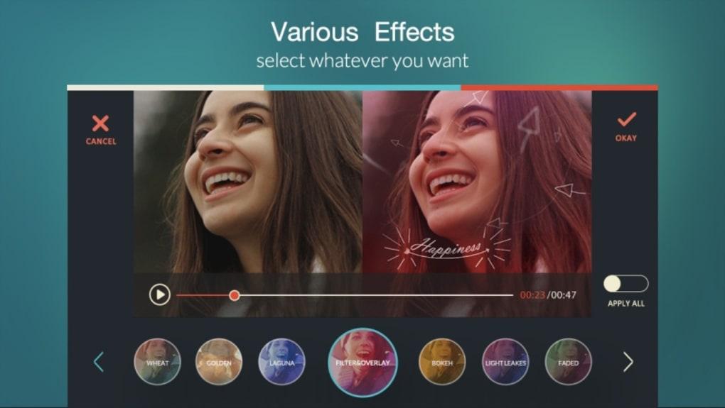 video editors for android - filmorago