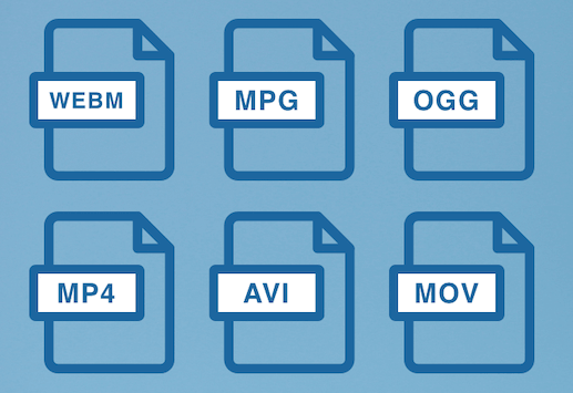 how to make video files smaller - file formats