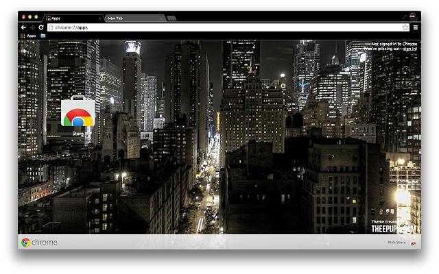 new york - google chrome themes