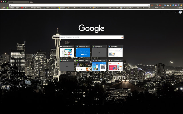 Seattle - google chrome themes
