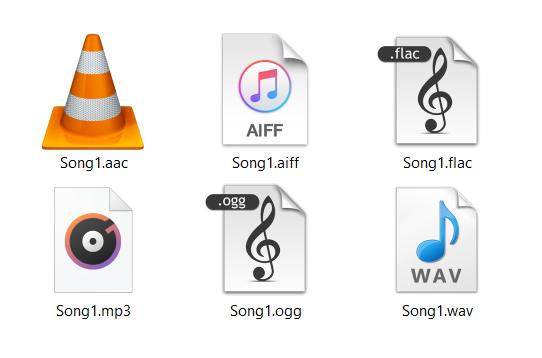 Converting audio files