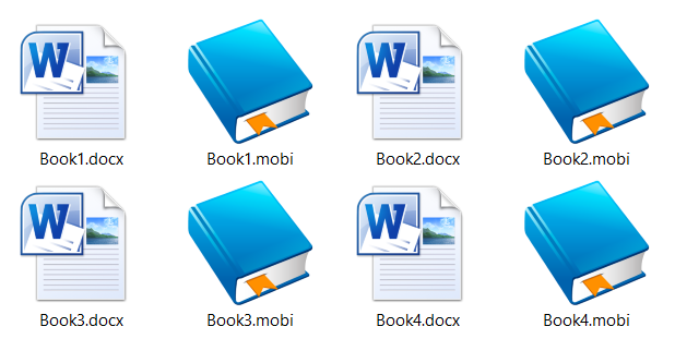 How to make a Word document into a book format?