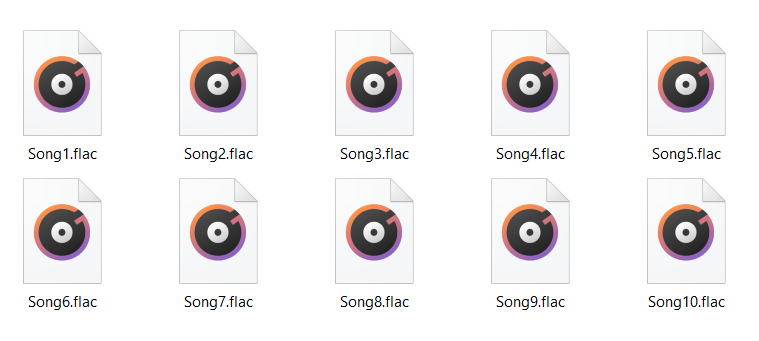 FLAC - Lossless audio formats