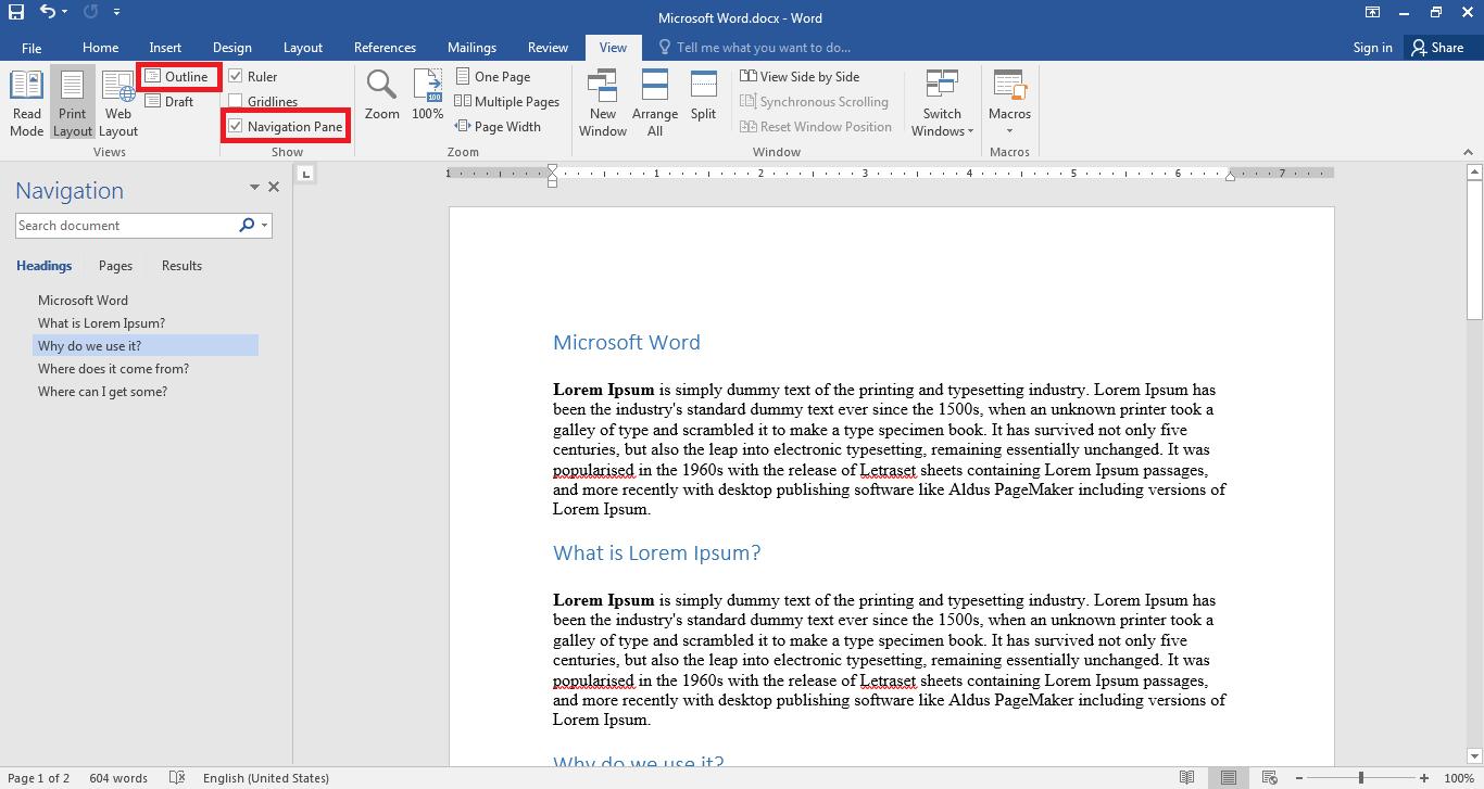 How to split Word documents?