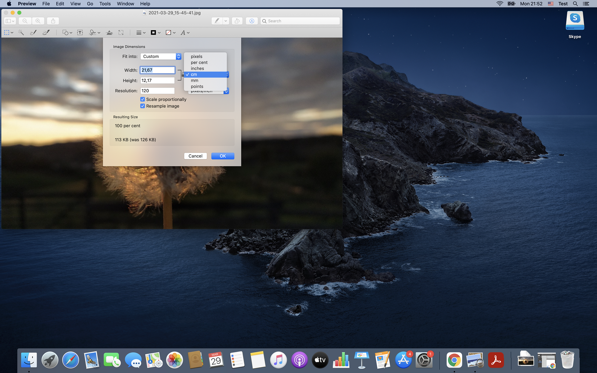 Convert low resolution image to high resolution on Mac