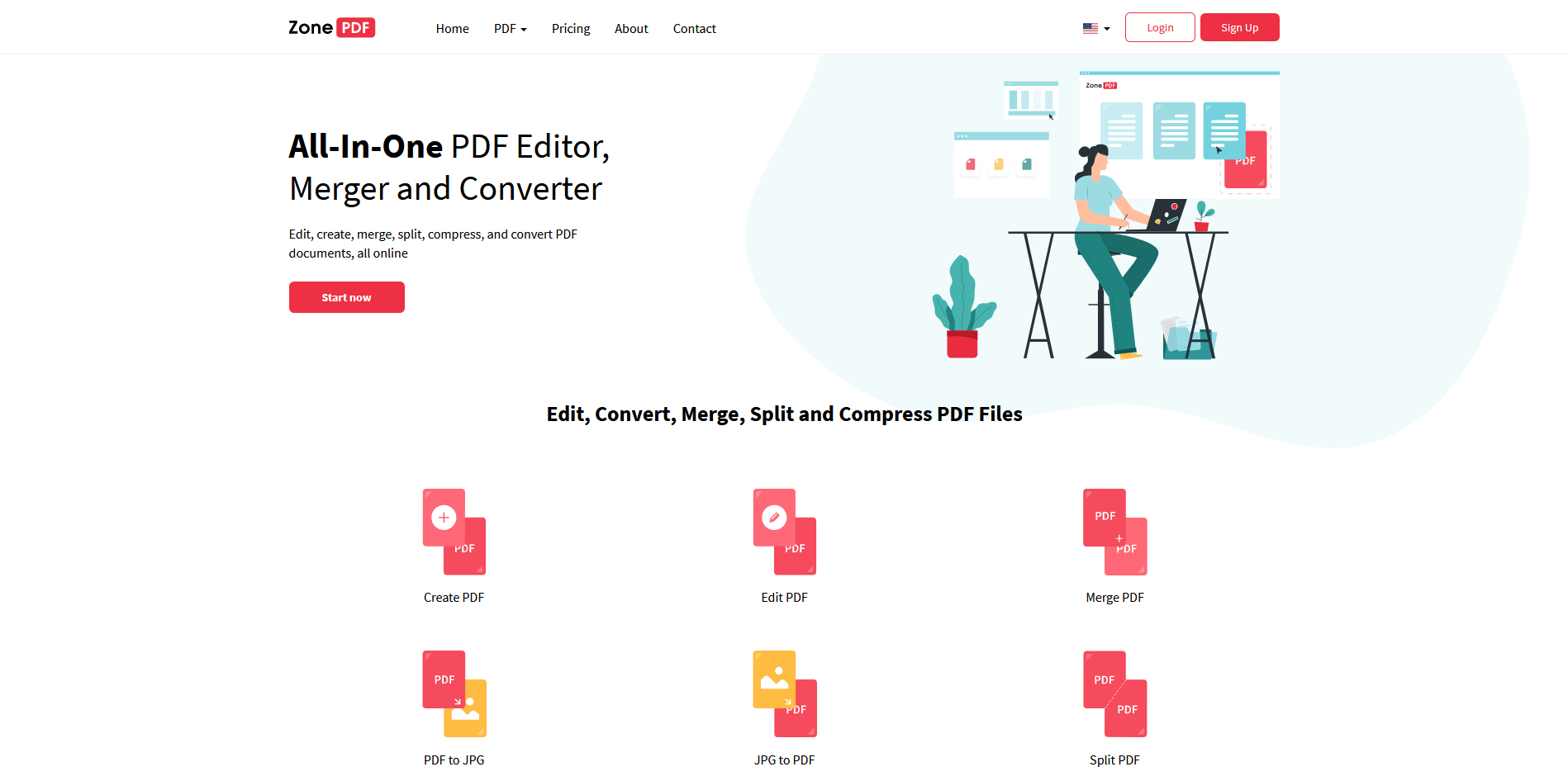 ZonePDF Chrome PDF converter