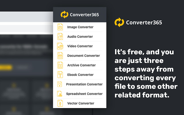 chrome video converter - converter365