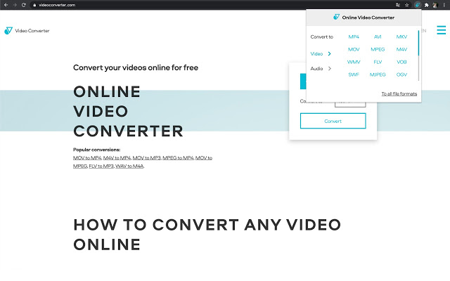 chrome video converter - online video converter