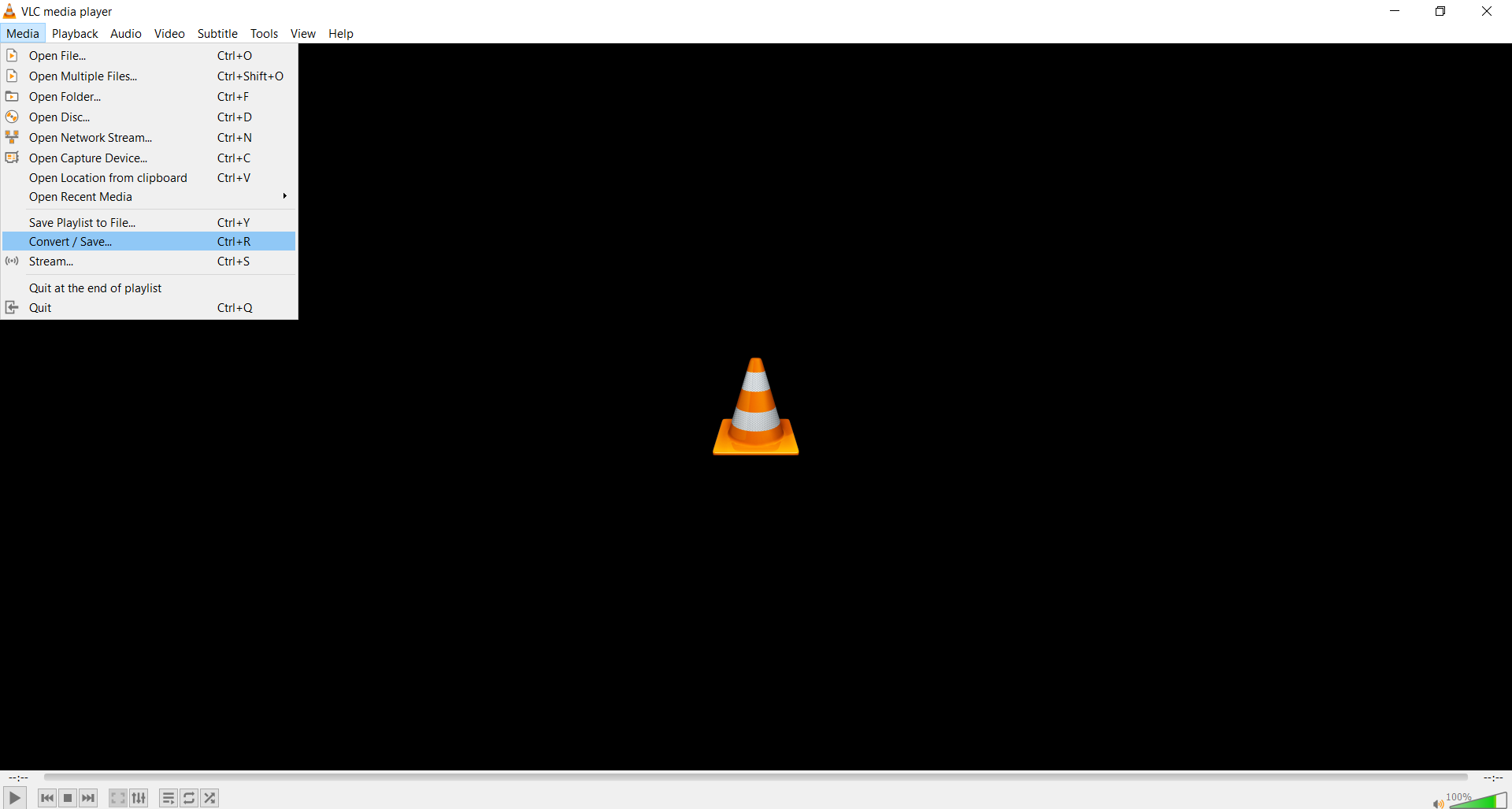 How to convert MP4 to MP3 using VLC?