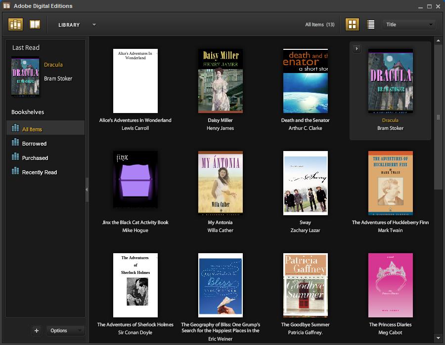 EPUB Readers for Mac and Windows - Adobe Digital Editions
