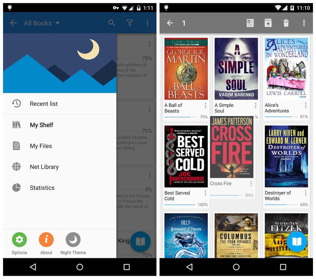 EPUB readers for Mac and Windows - moon reader