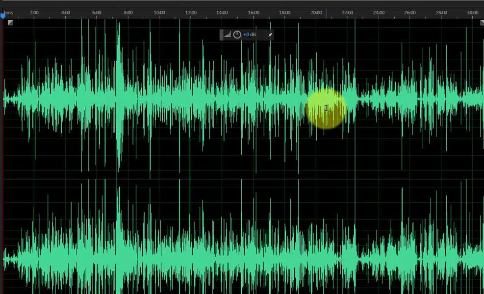 bad audio quality background noise