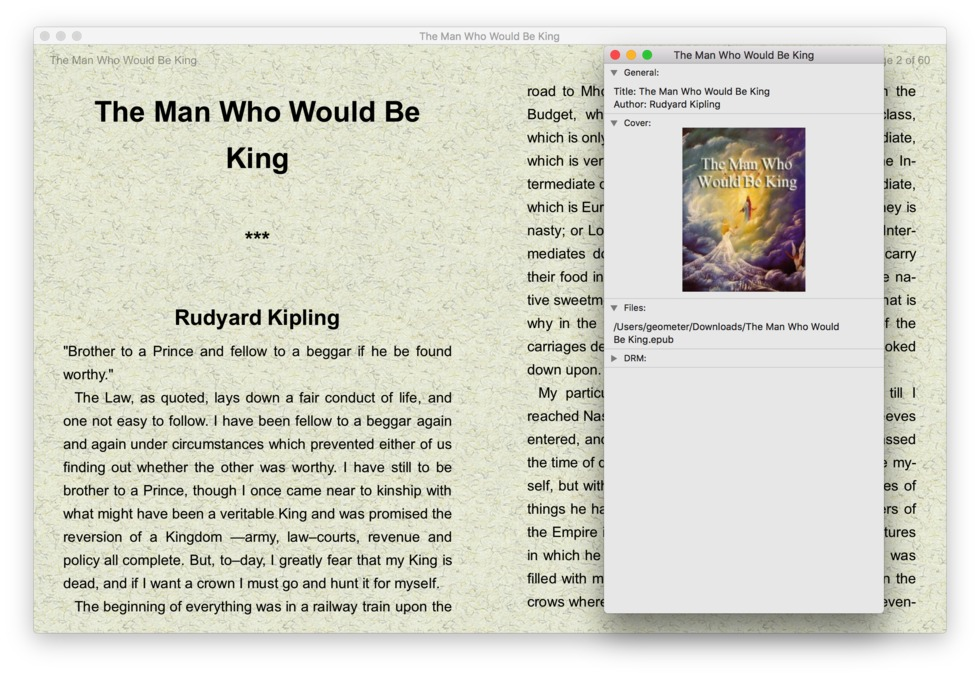 free EPUB readers for Mac and Windows - FBReader