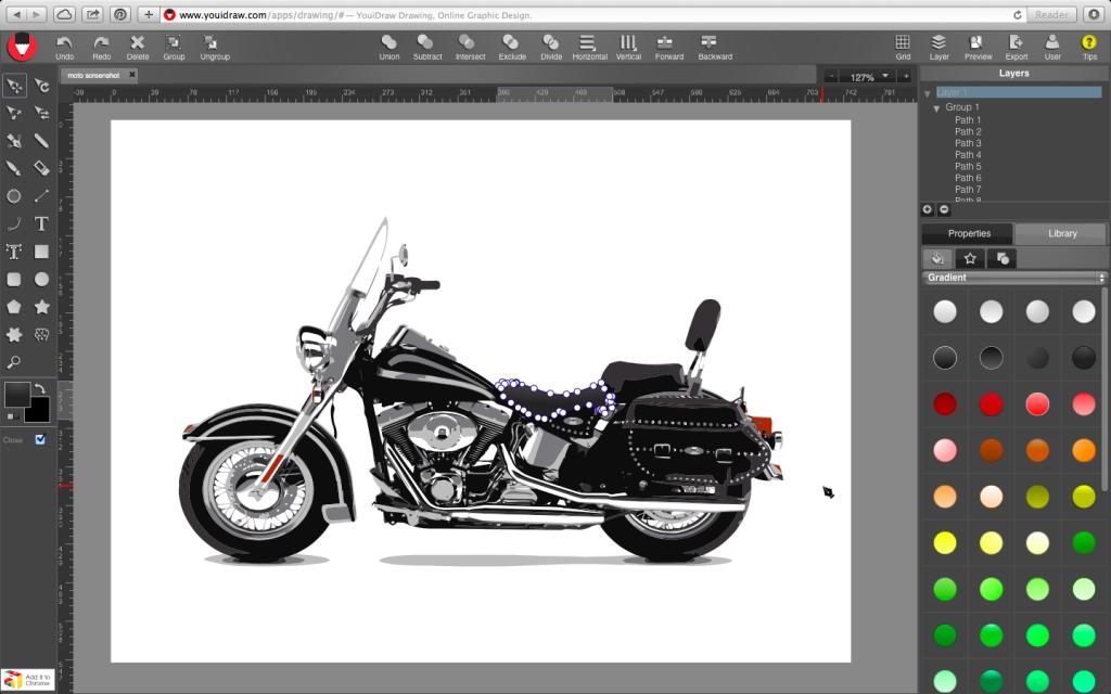YouiDraw best free vector tools