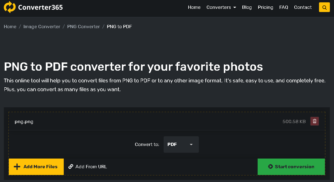 convert png to pdf converter365 1