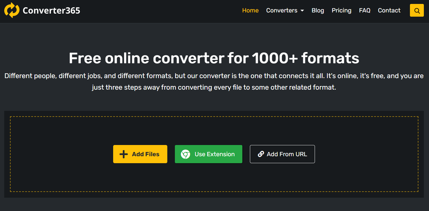 Celebrate with Converter365 One Year of Free File Conversions
