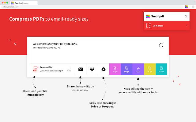 free PDF editors - smallpdf