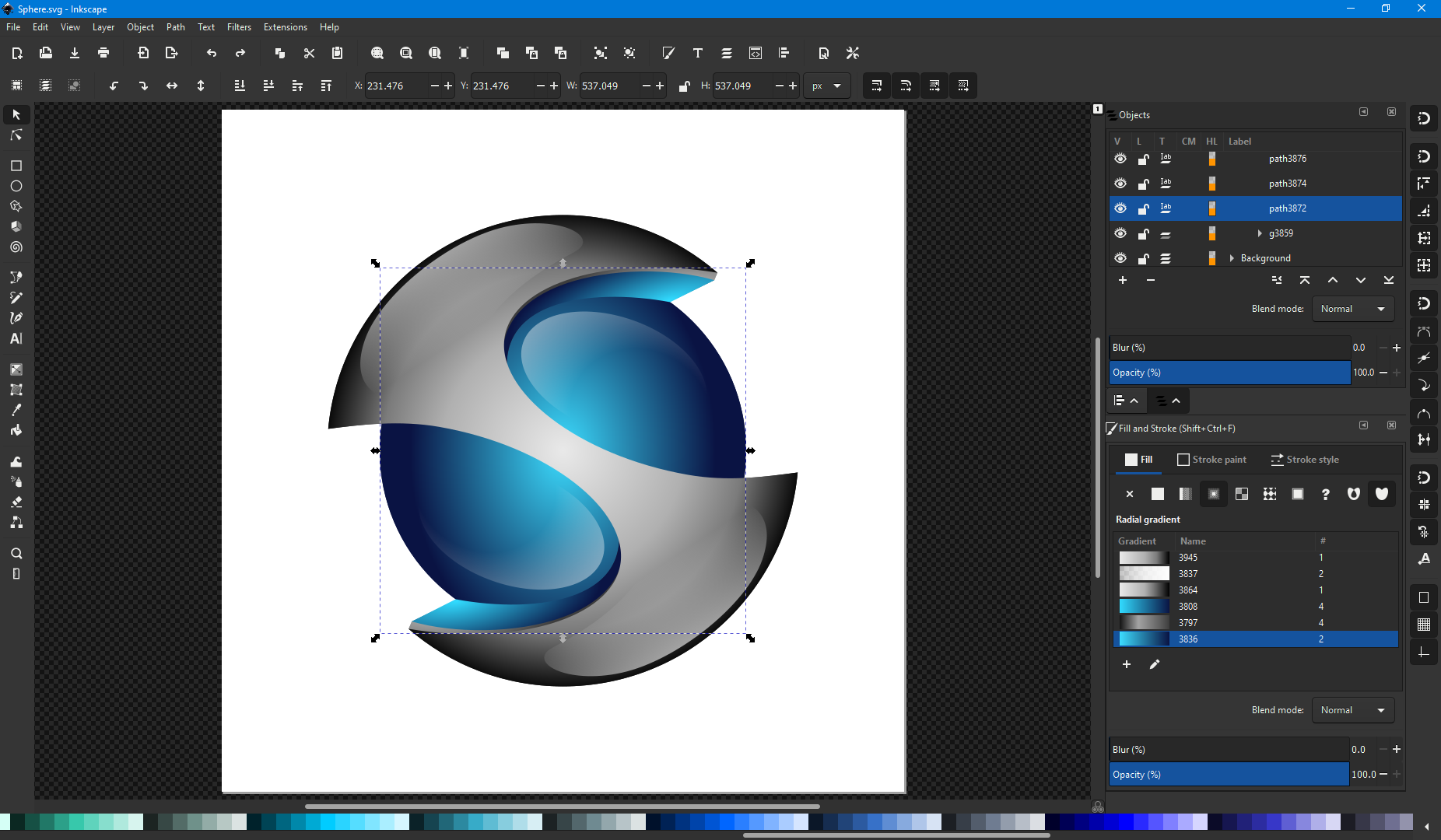 free vector tools Inkscape
