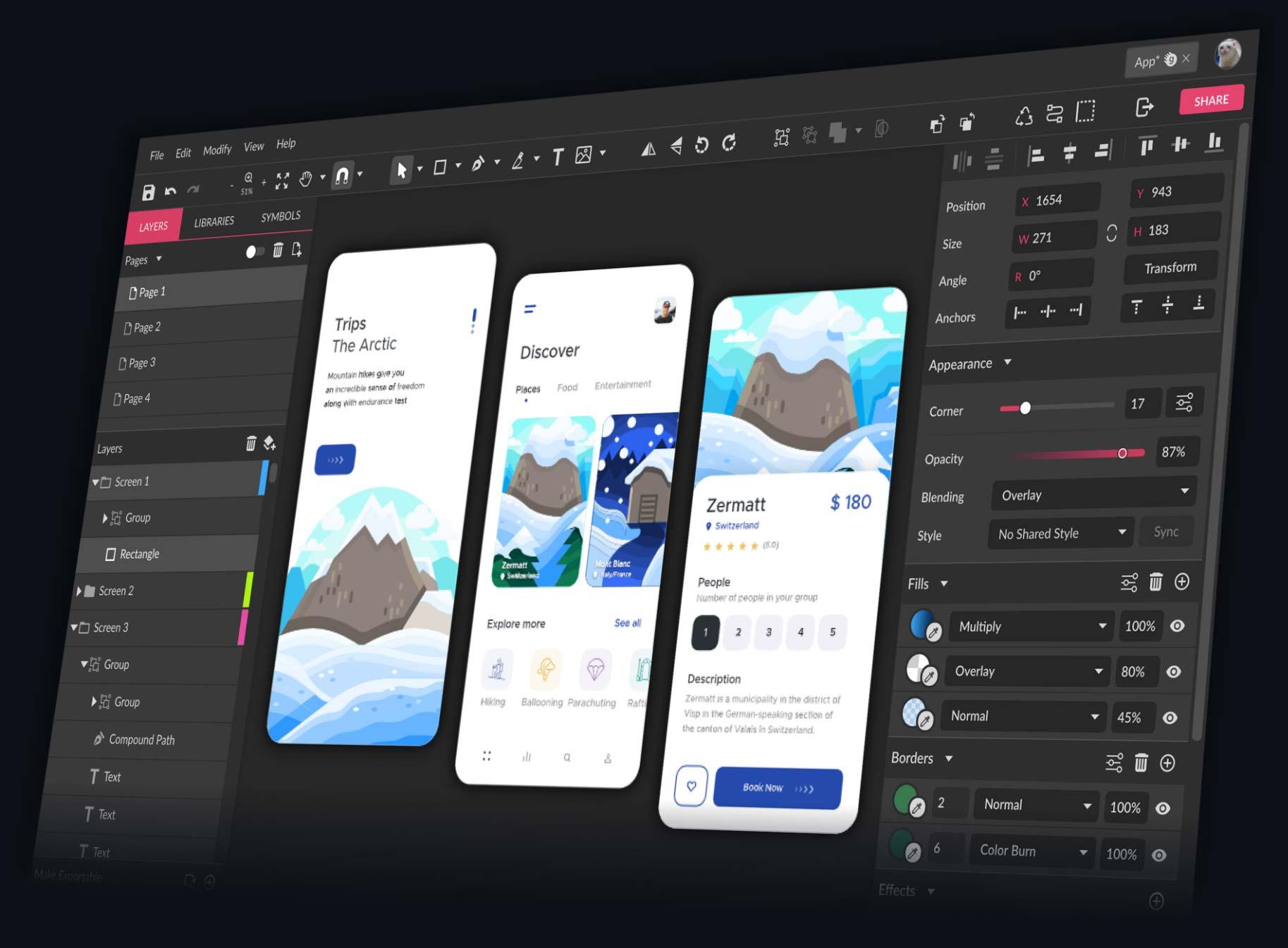 gravit designer free vector tools