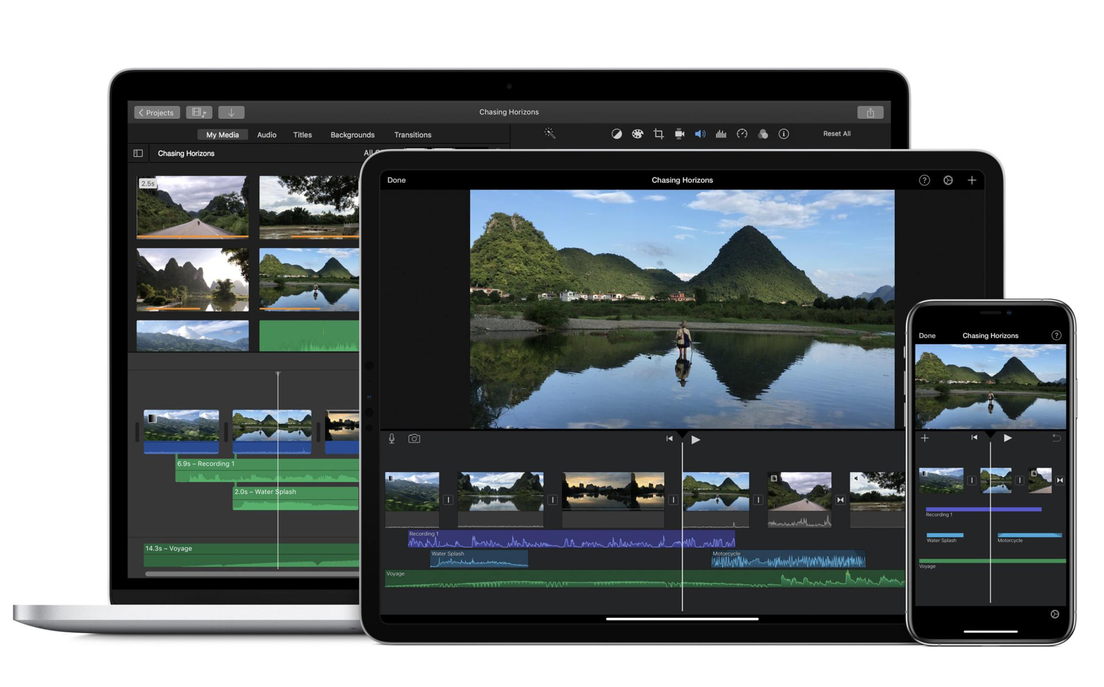 iMovie free online video tools