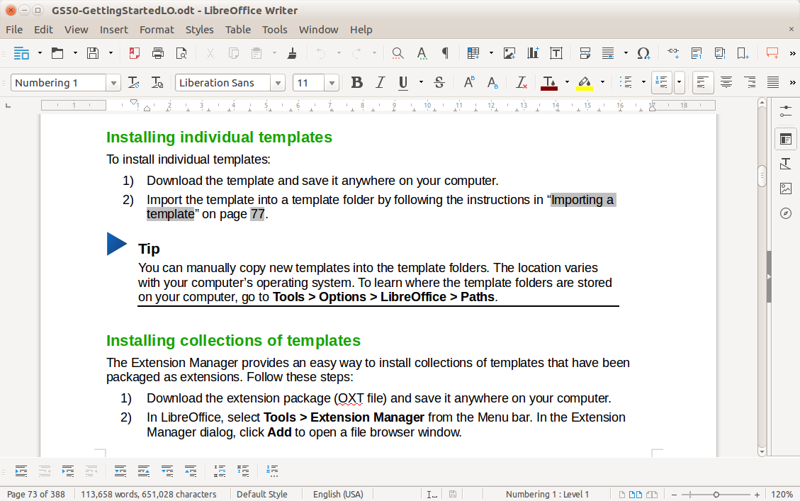 libre office free online document tools