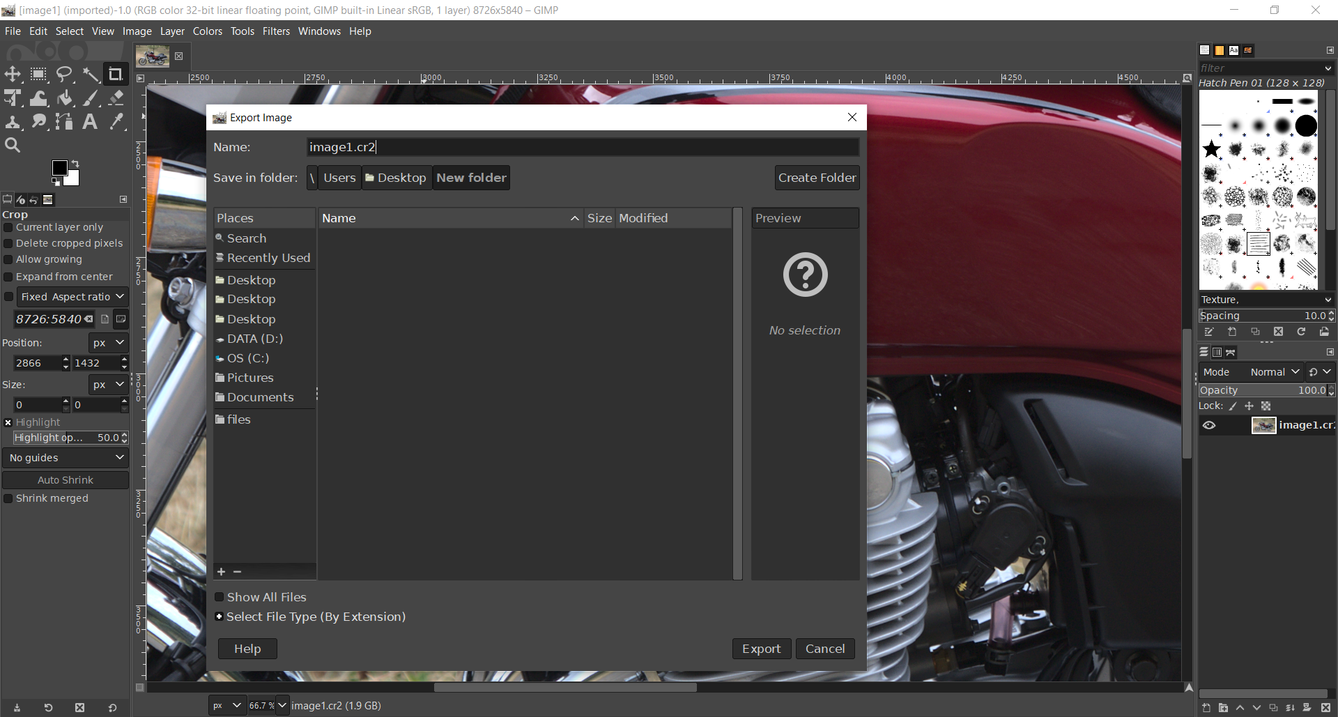 Why you should use GIMP as the best RAW converter and image editing tool?