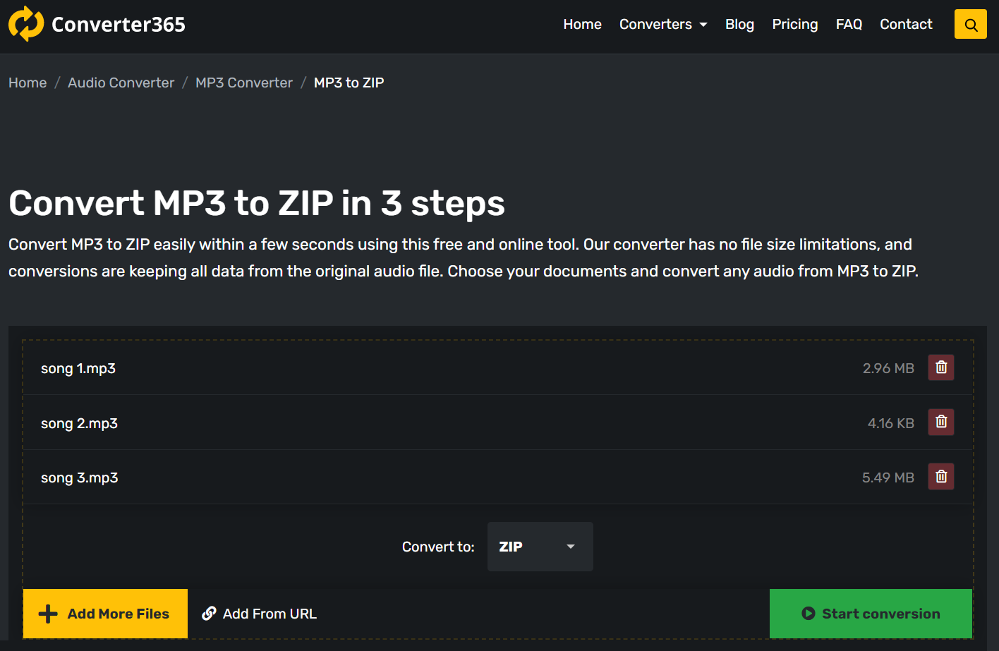 How to use the best free online ZIP file converter?