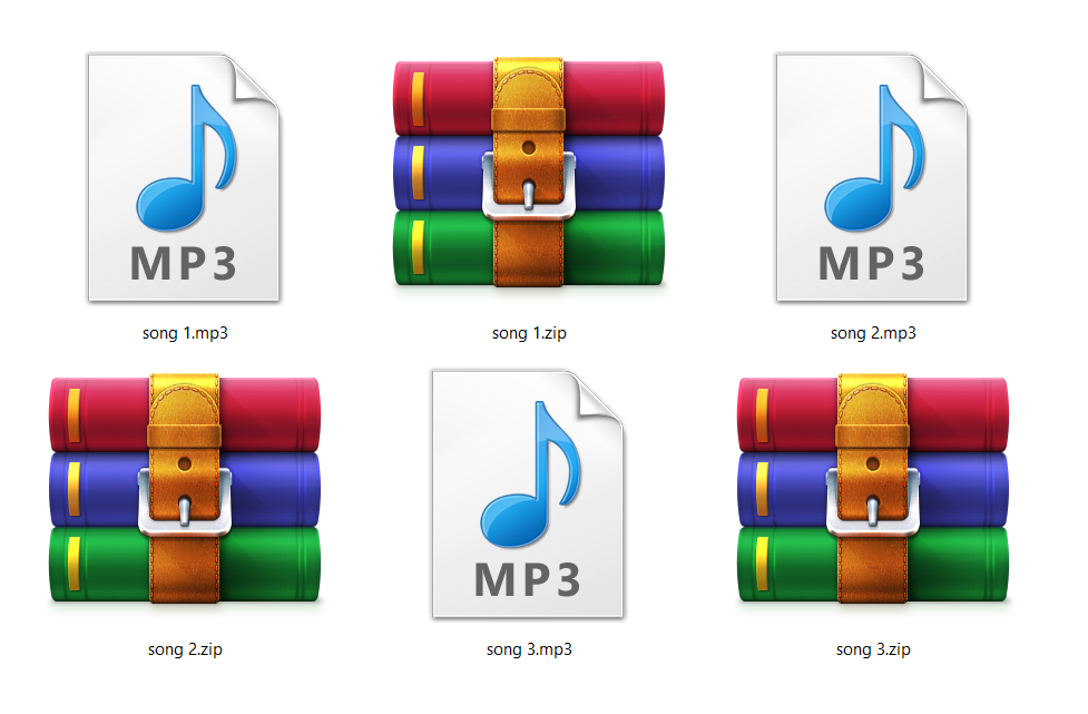 The best free ZIP file converter to MP3