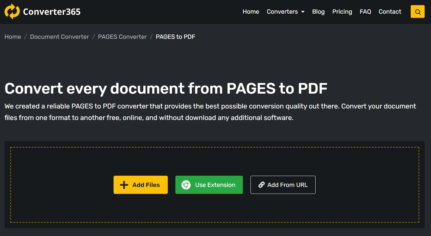 How to convert a PAGES document to PDF on Windows or any OS?