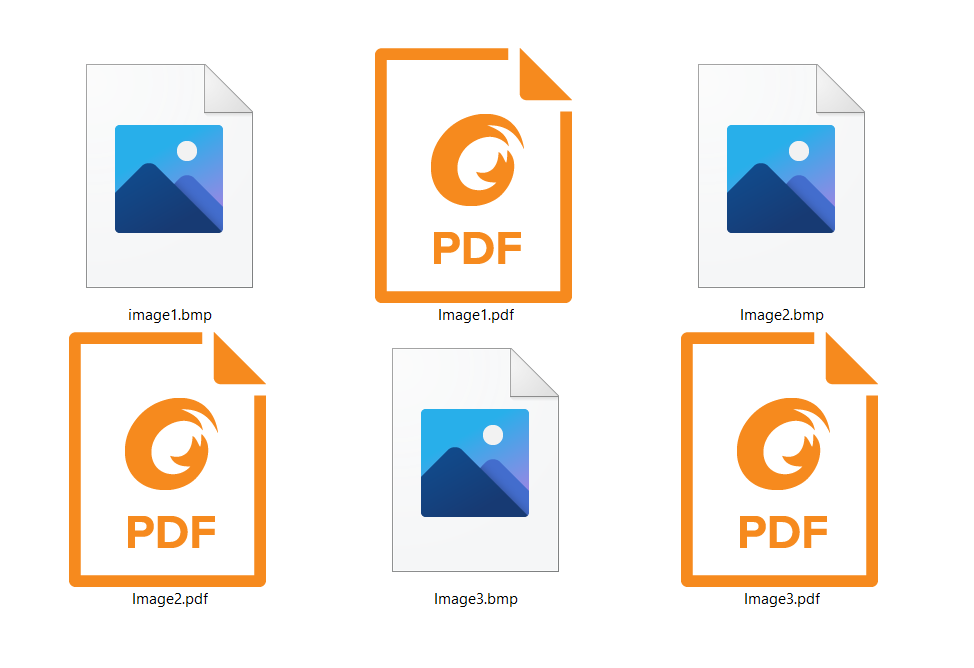 How to convert BMP TO PDF fast and free?