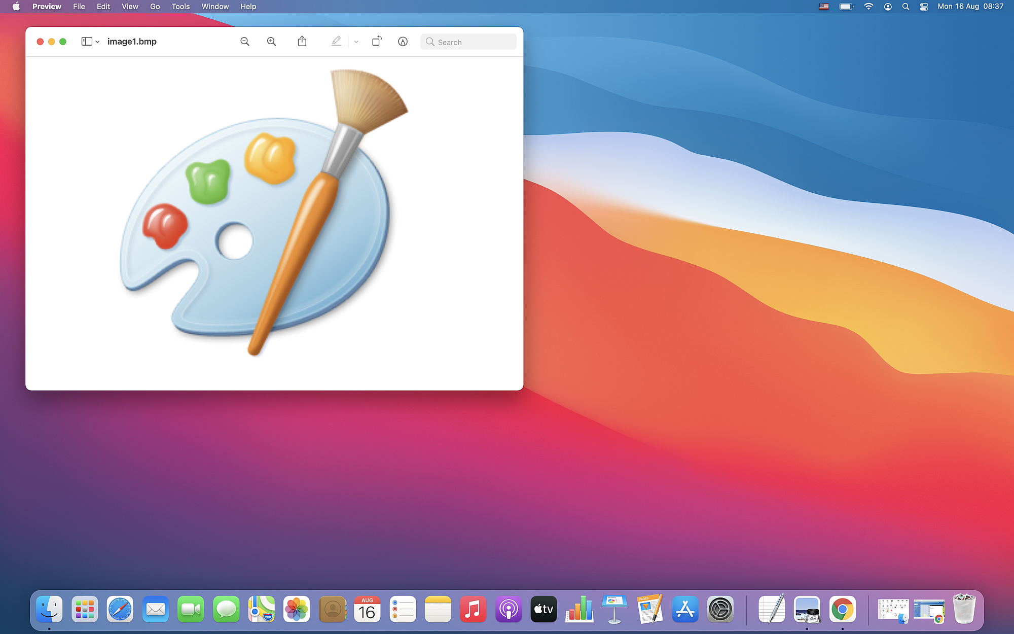 How to convert BMP to PDF files on macOS?